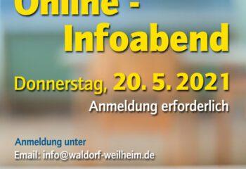 A6 - Plakat Infoabend ONLINE 2021